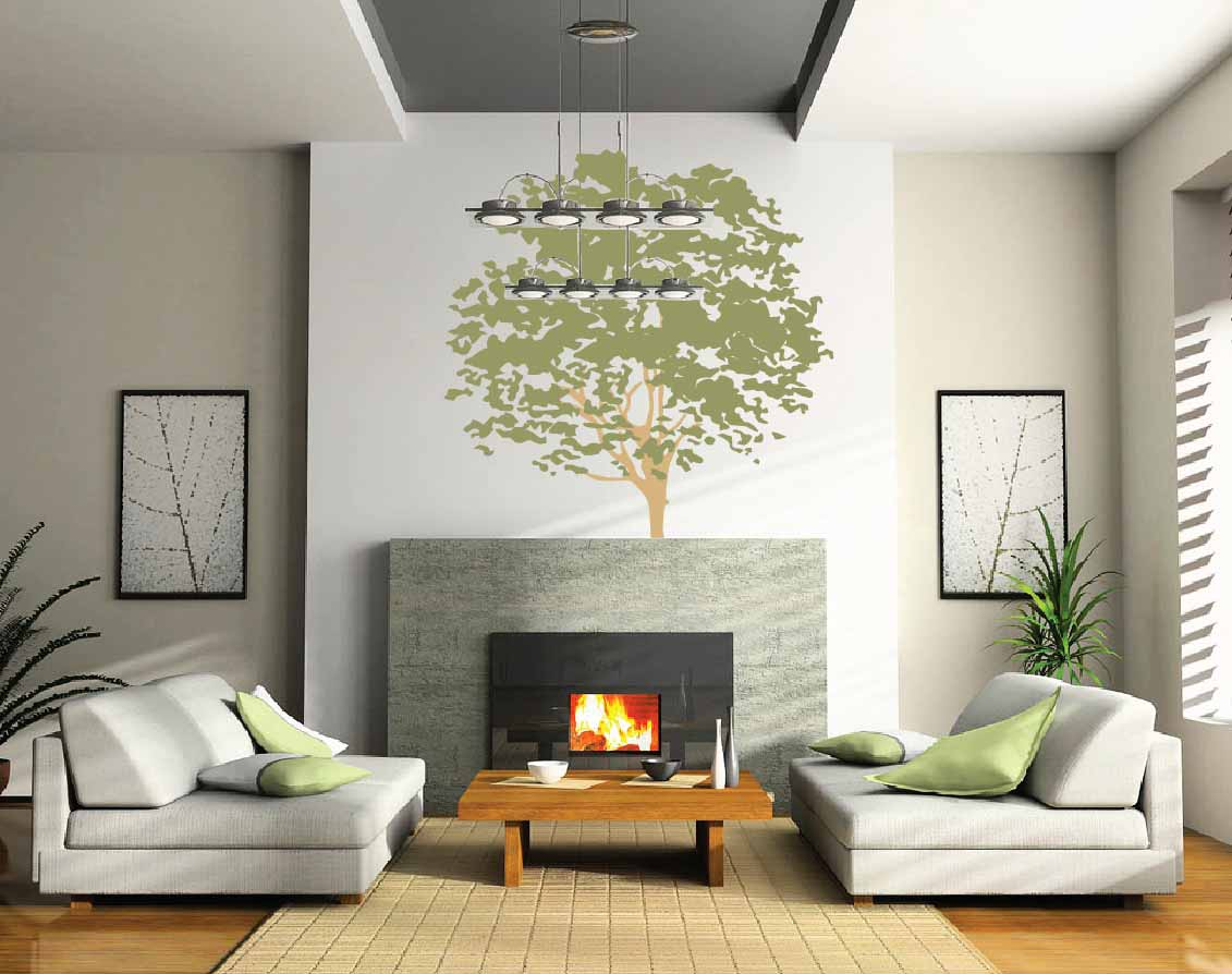 Image of: Best Large Living Room Wall Decor