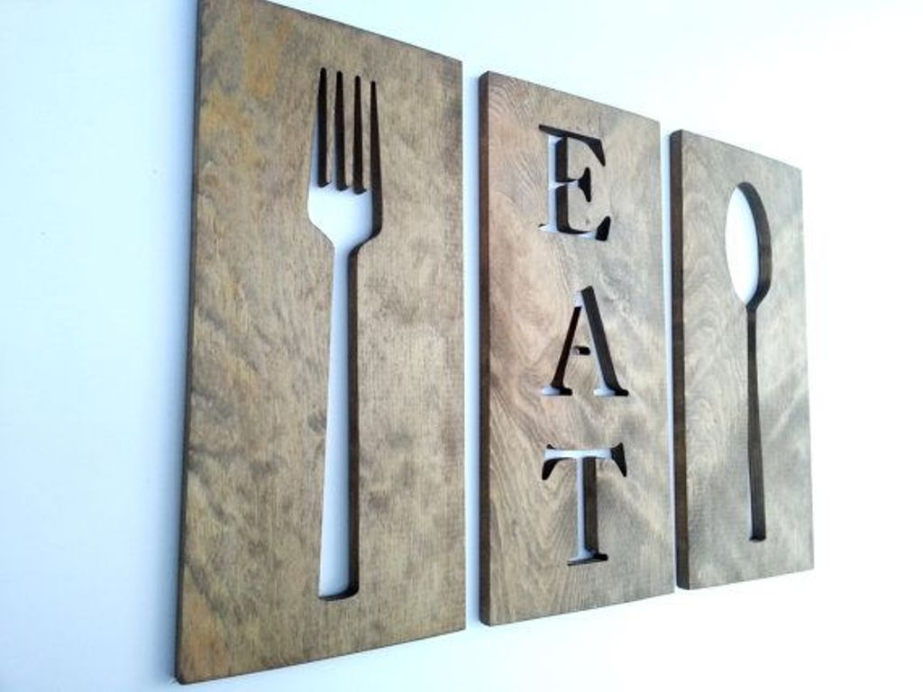 Picture of: Best Modern Kitchen Wall Décor