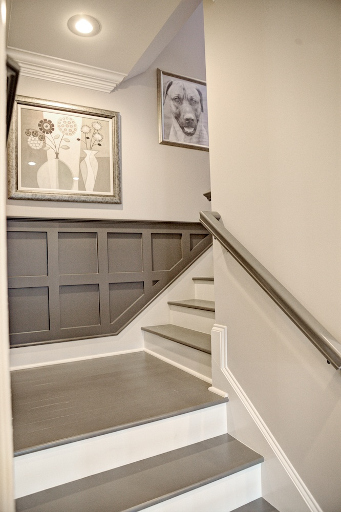 Image of: Best Paint for Basement Stairs