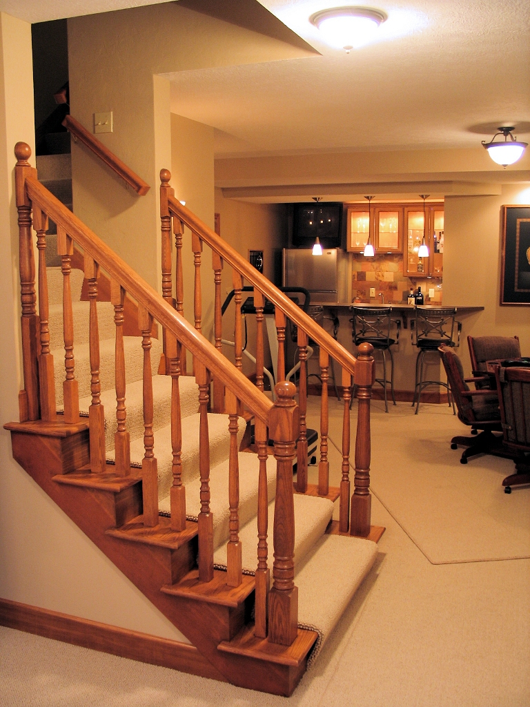 Paint For Basement Stairs Design