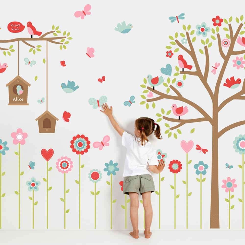 Image of: Butterfly Wall Stickers Decor Modern