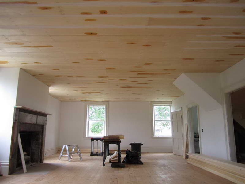 Image of: Cheap Low Basement Ceiling Ideas