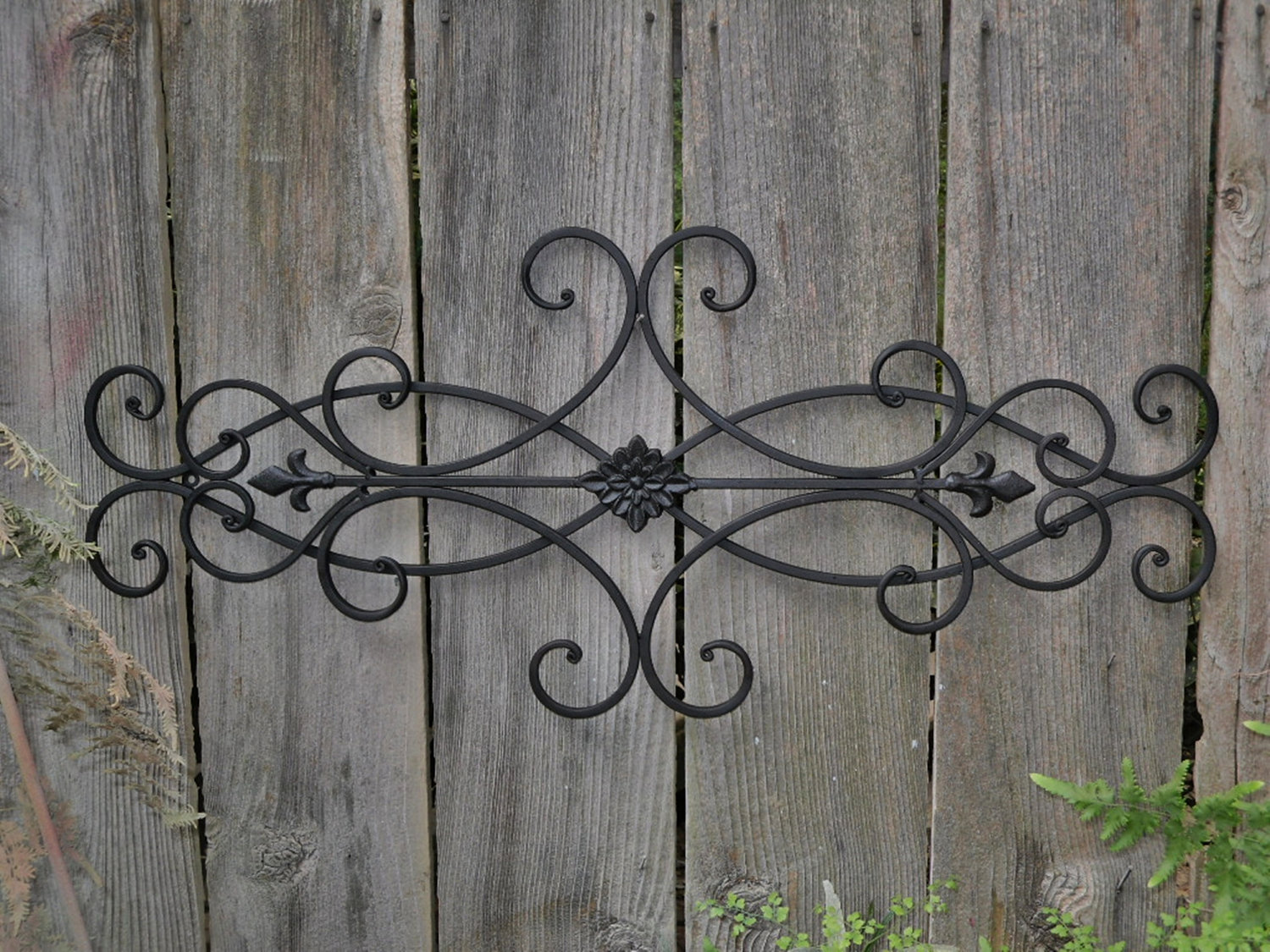 Classic Large Iron Wall Decor