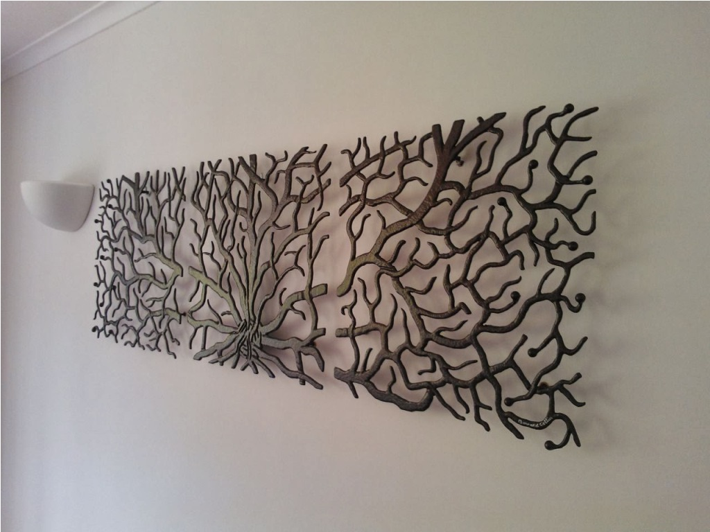 Contemporary Large Iron Wall Decor