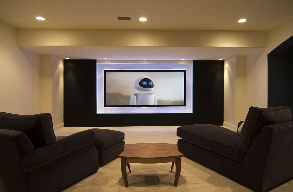 Image of: Contemporary Low Basement Ceiling Ideas