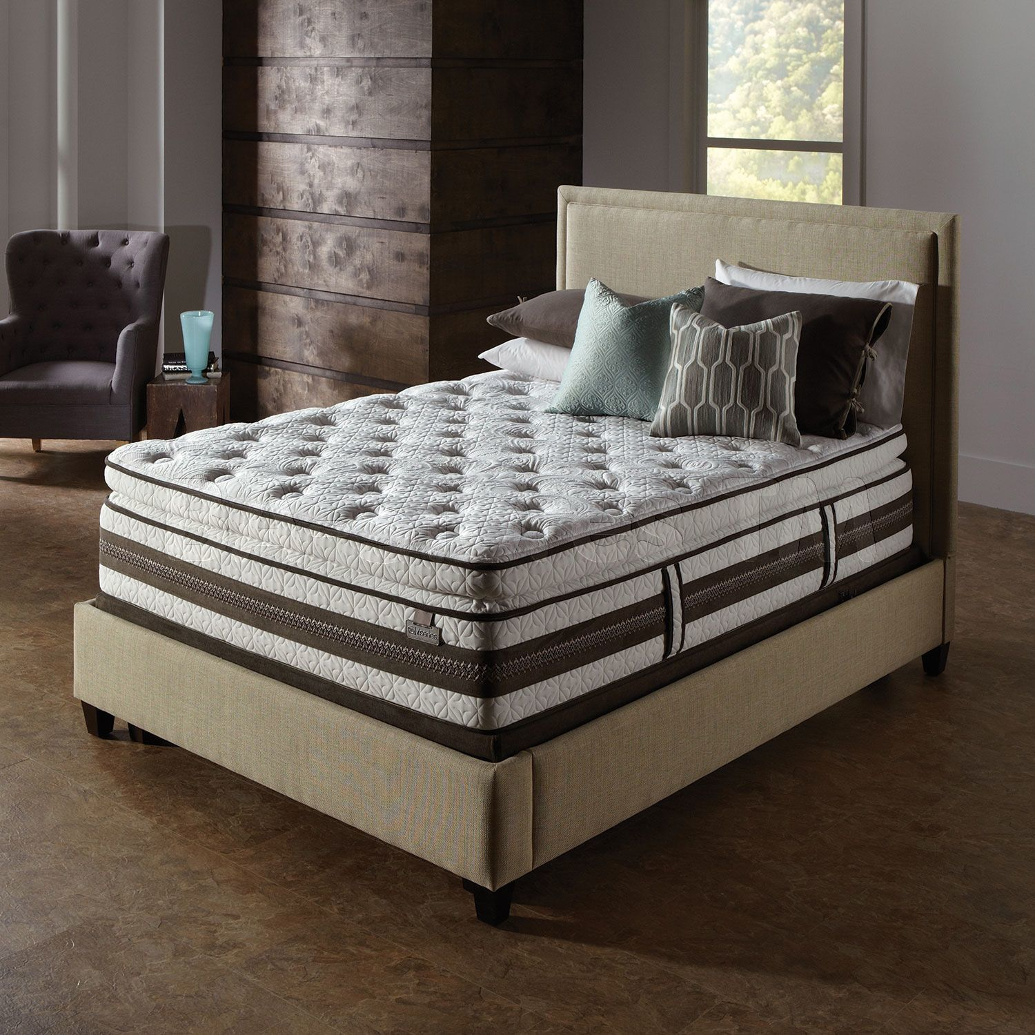 Cozy Full Size Pillow Top Mattress
