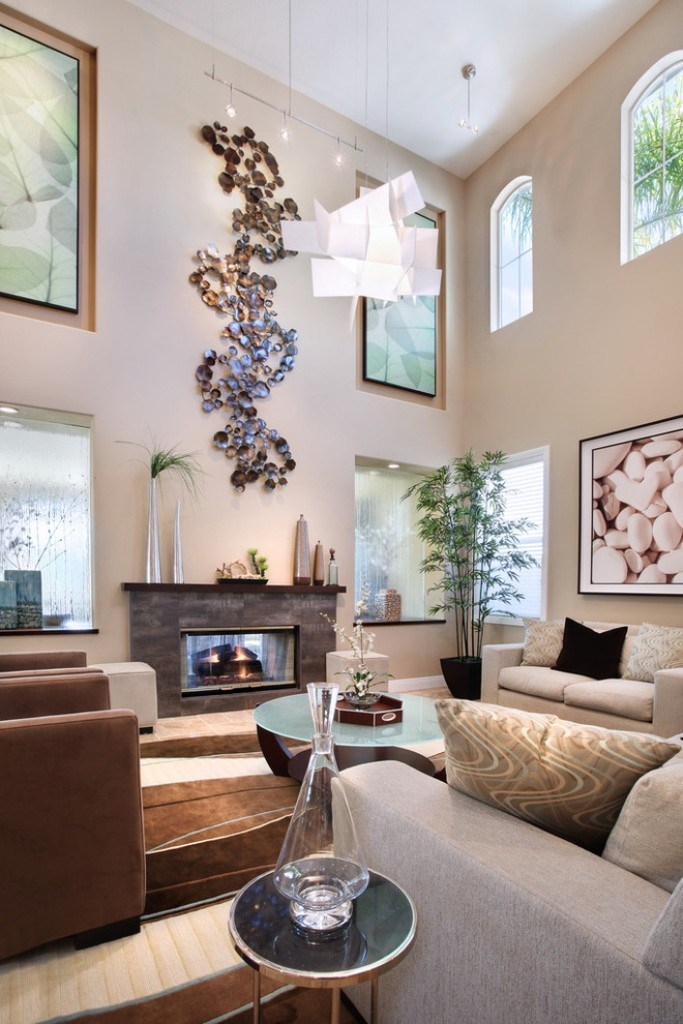Picture of: Decor Large Wall Decor Ideas For Living Room