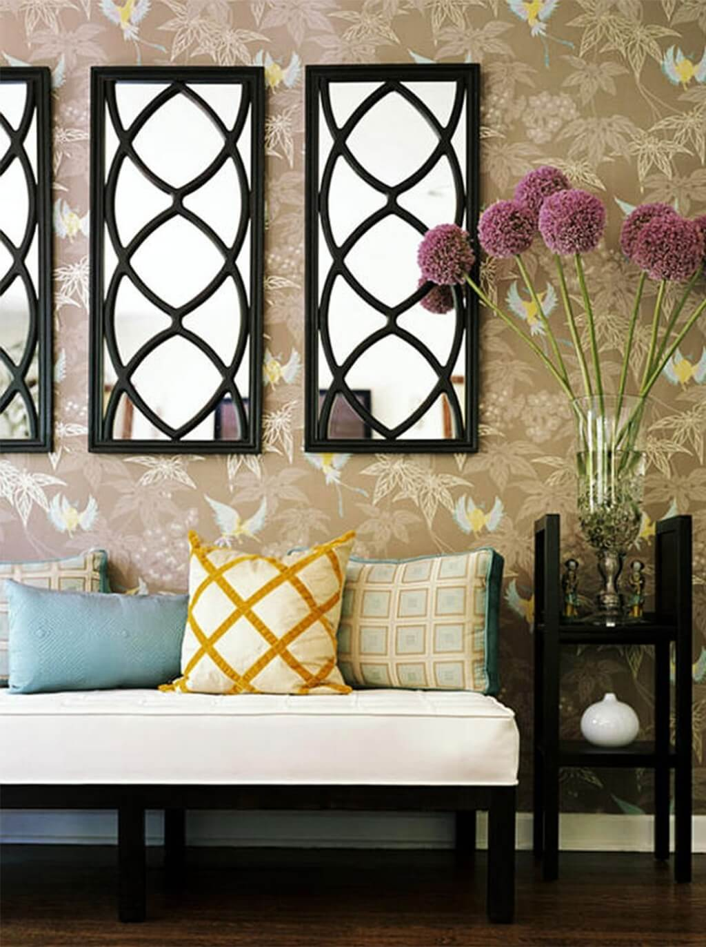 Decorative Wall Mirrors For Living Room Frame