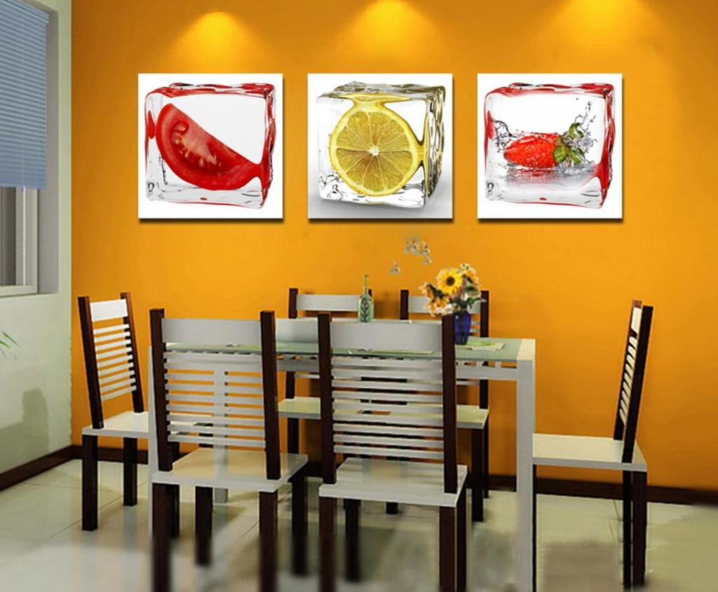 Picture of: Dining and Kitchen Wall Art Decor