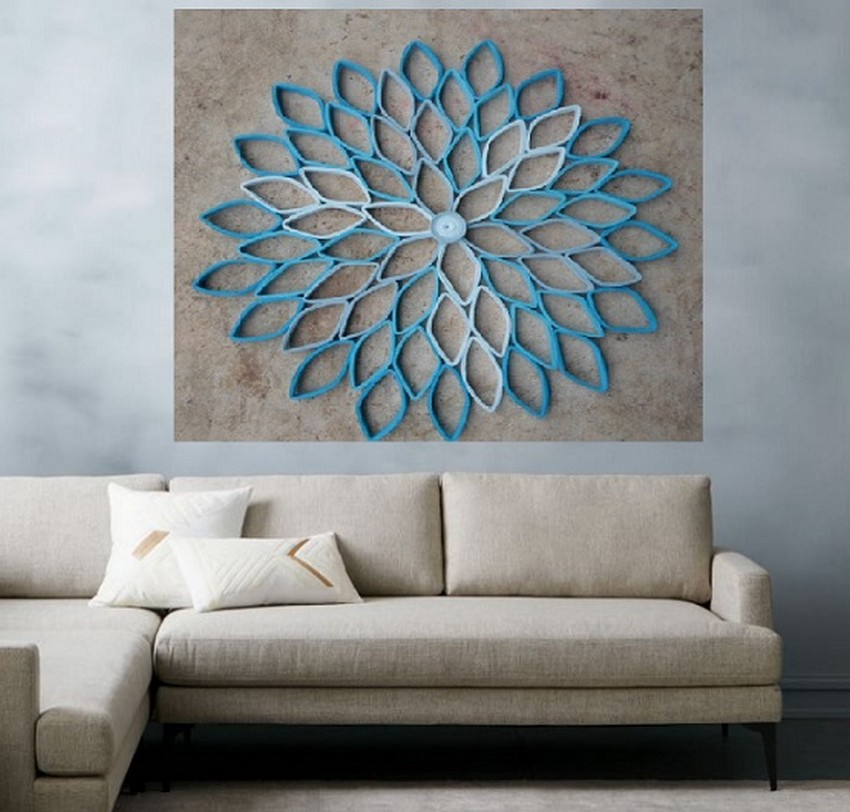 DIY Living Room Decor Art