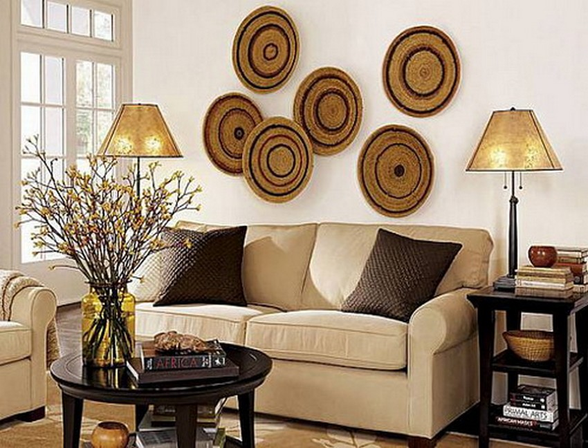 DIY Living Room Decor Circle