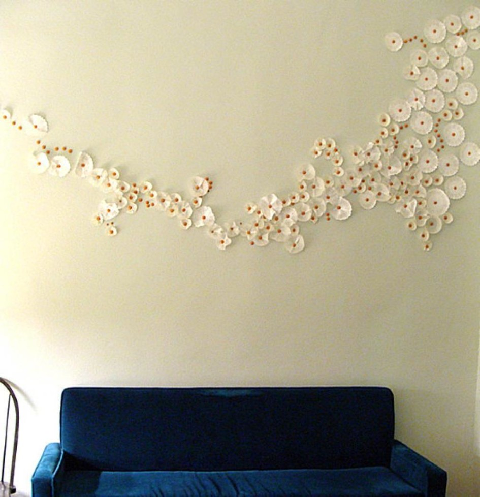 DIY Living Room Decor Flower