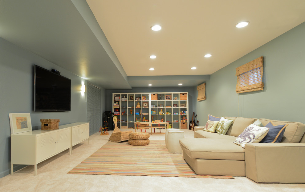 Drop Ceiling Ideas Basement Images