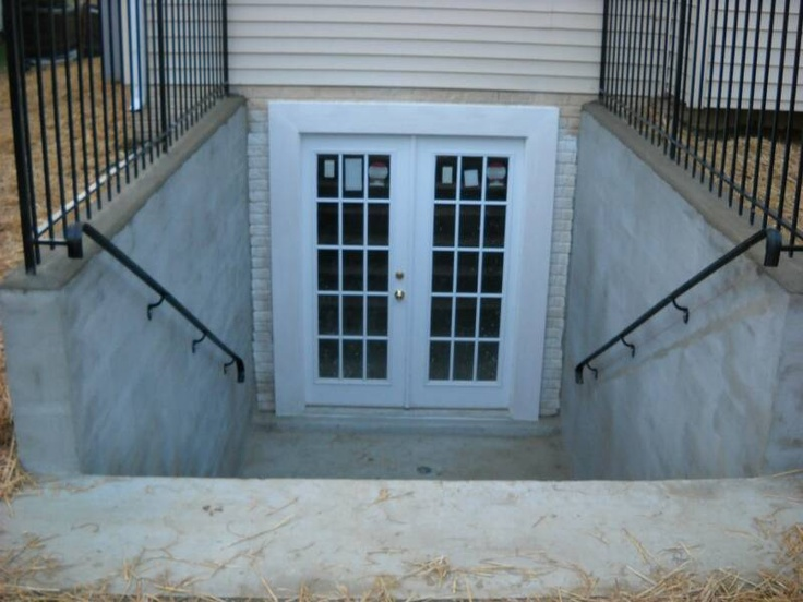 Image of: Exterior Basement Door Covers