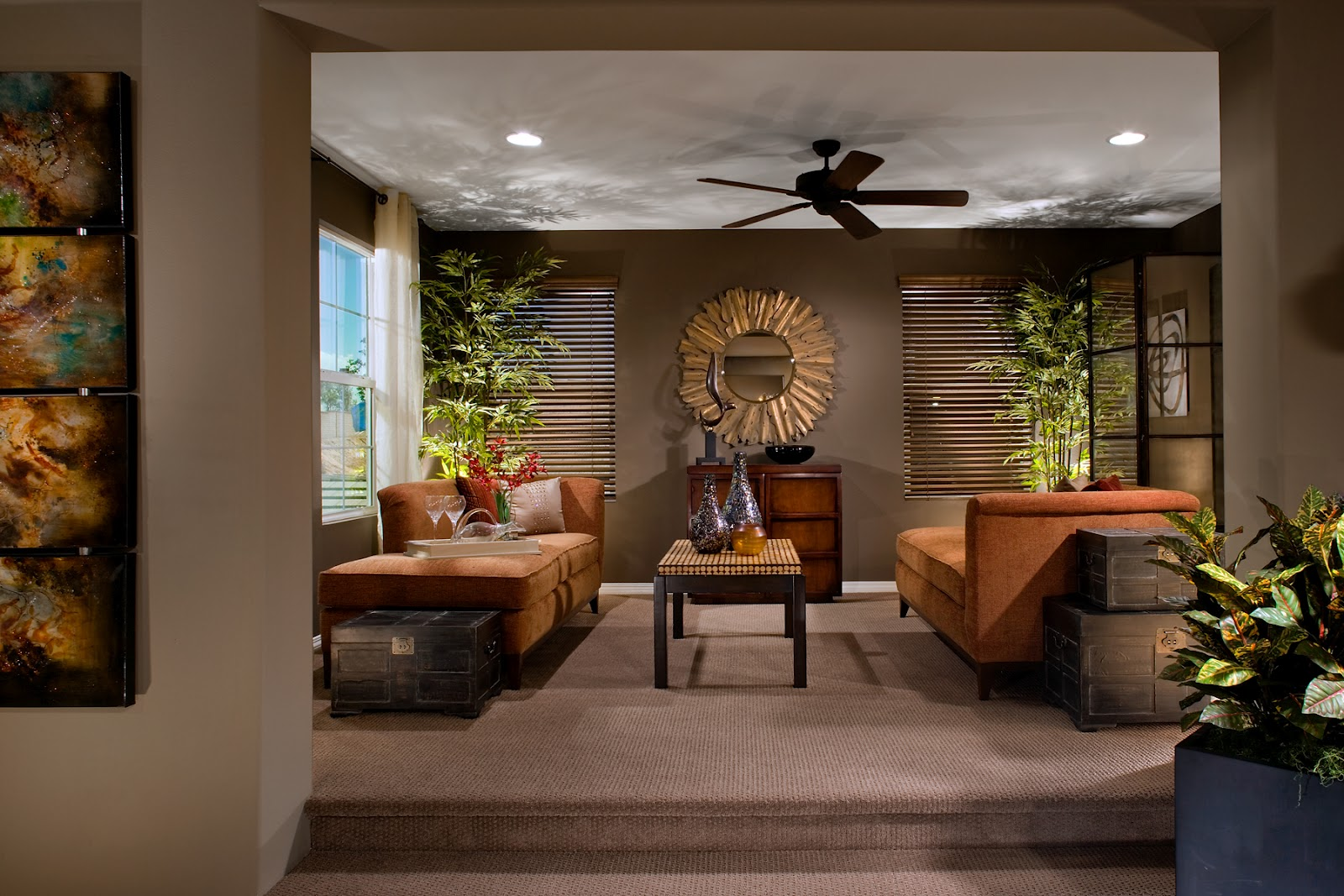 Image of: Famous Large Living Room Wall Decor