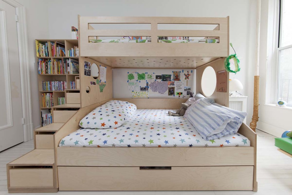Image of: Full Size Bunk Bed Mattress Designs