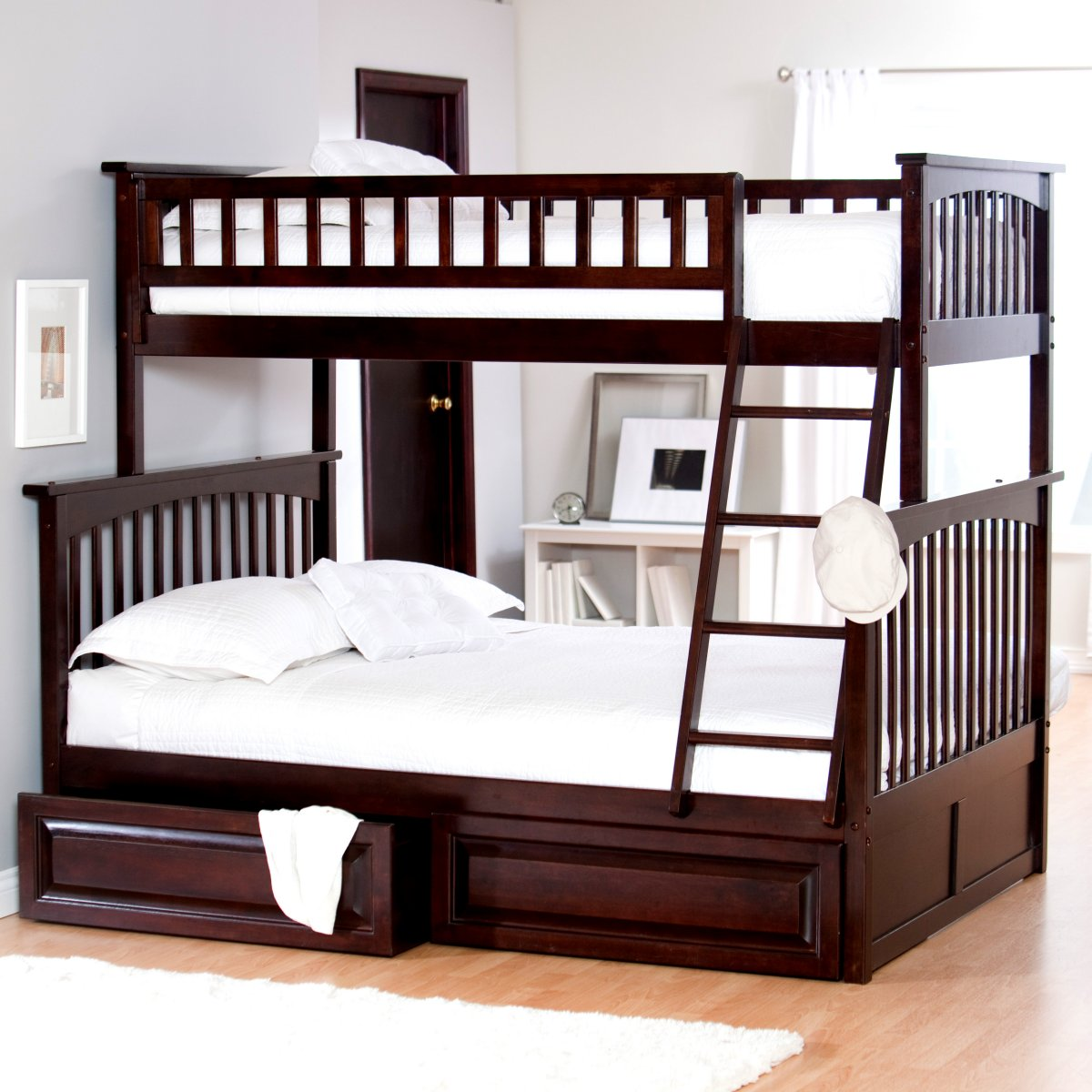 Image of: Full Size Bunk Bed Mattress Type