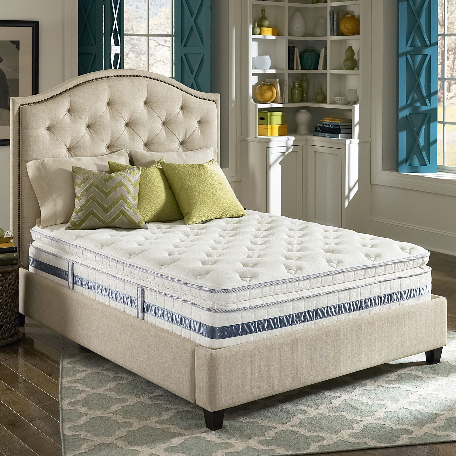 Full Size Pillow Top Mattress Bed