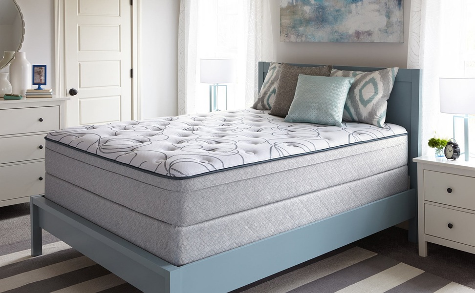 Full Size Pillow Top Mattress Modern