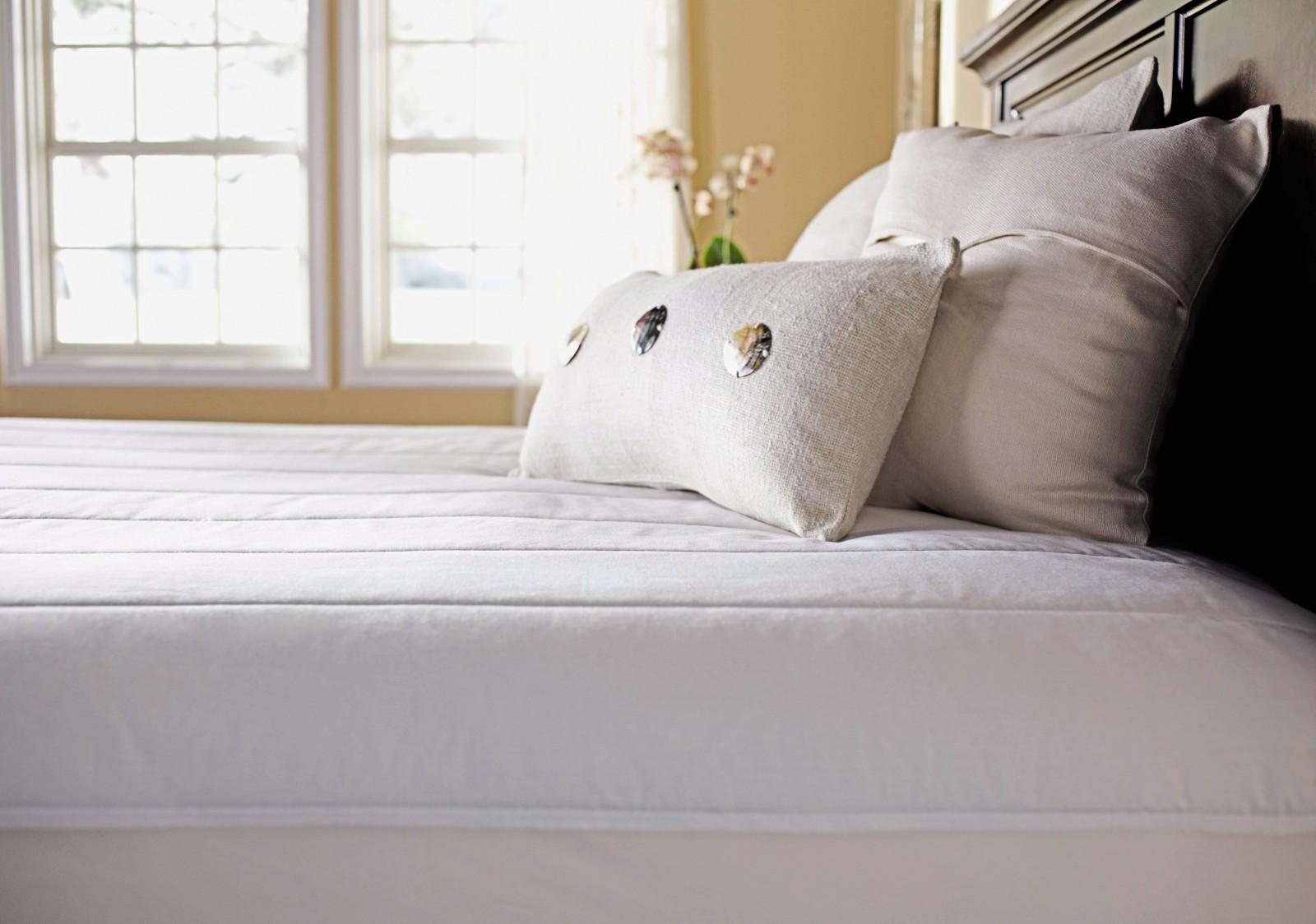 Image of: Heated Mattress Pad Queen Deep Pocket