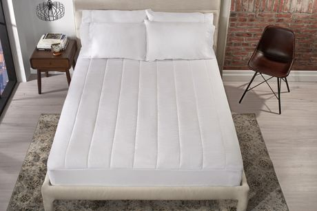Image of: Heated Mattress Pad Queen Size Dual Control