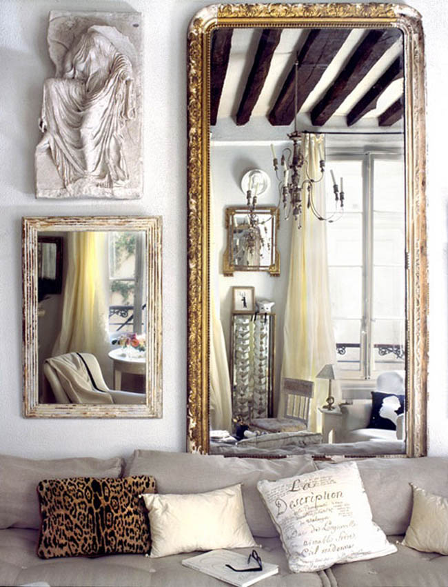 Image of: Home Decor Wall Mirrors Contemporary