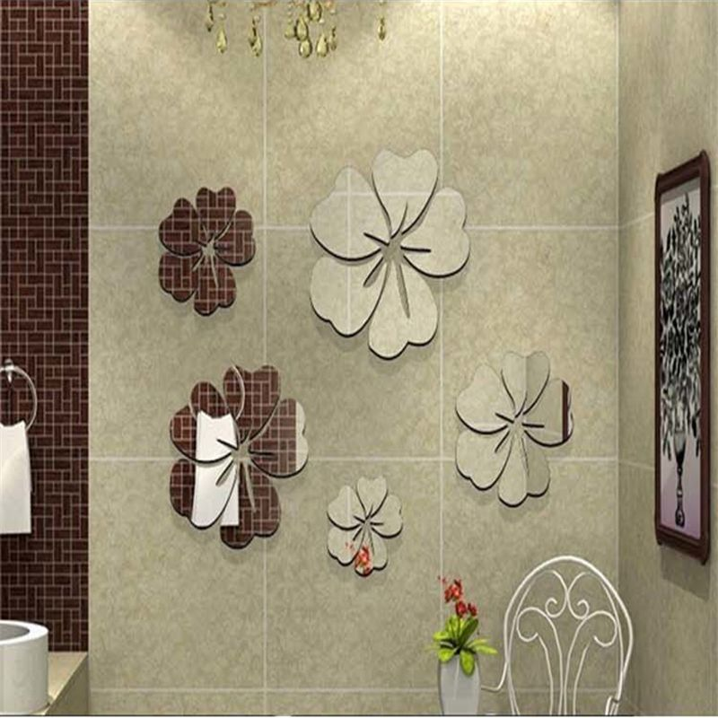 Image of: Home Decor Wall Mirrors Flower