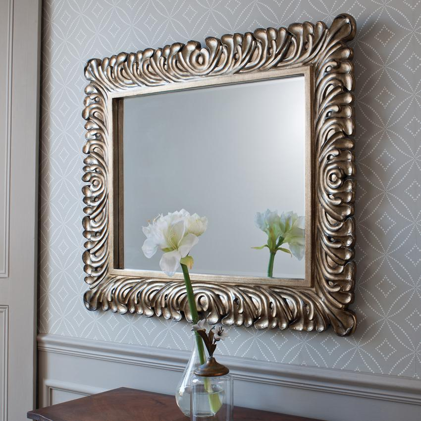 Image of: Home Decor Wall Mirrors Living Room