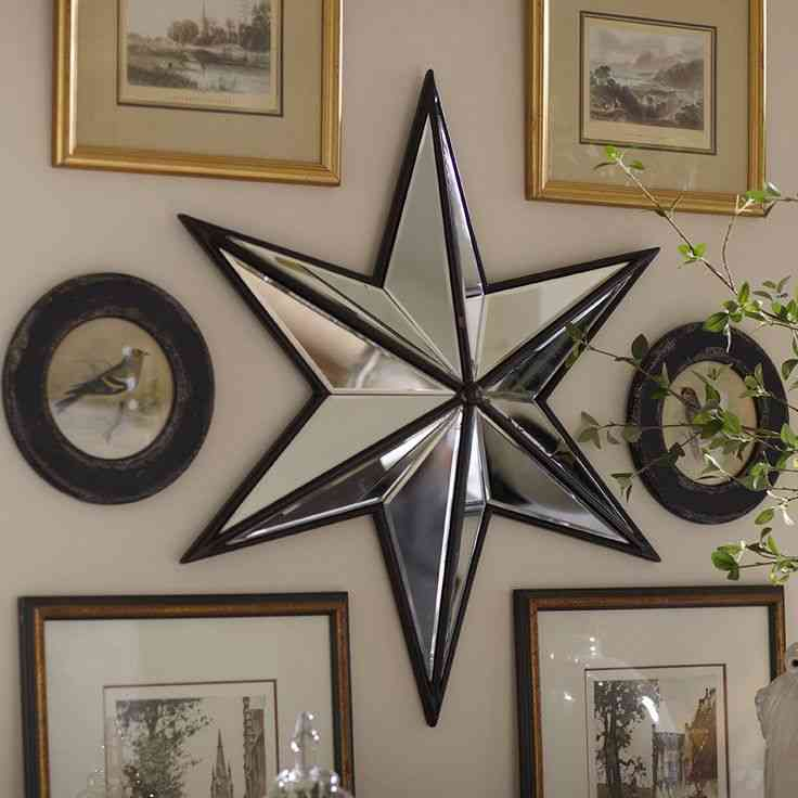 Home Decor Wall Mirrors Star