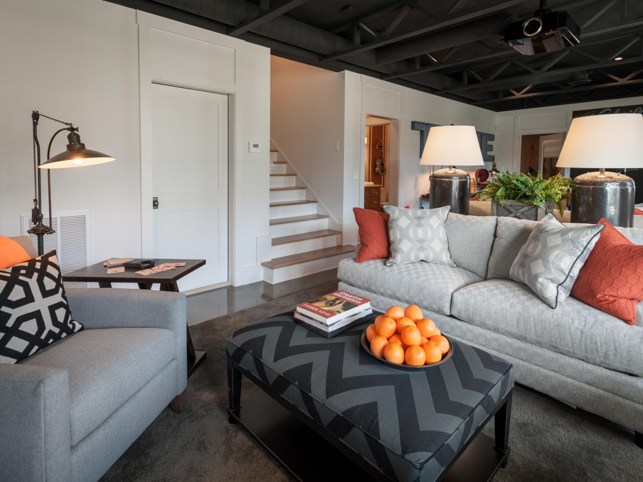 How To Remodel A Basement On A Budget Furniture