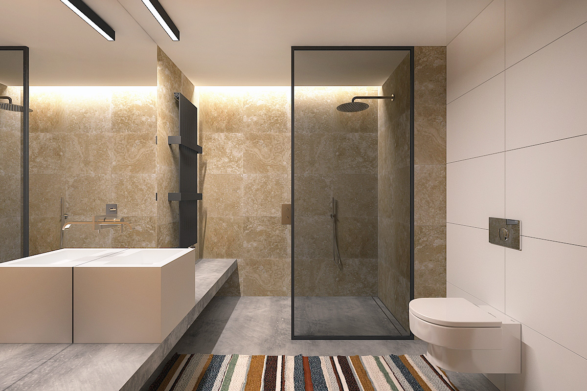 Ideas Basement Bathroom Design Layout