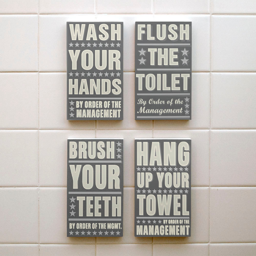 Picture of: Kids Bathroom Wall Decor Ideas