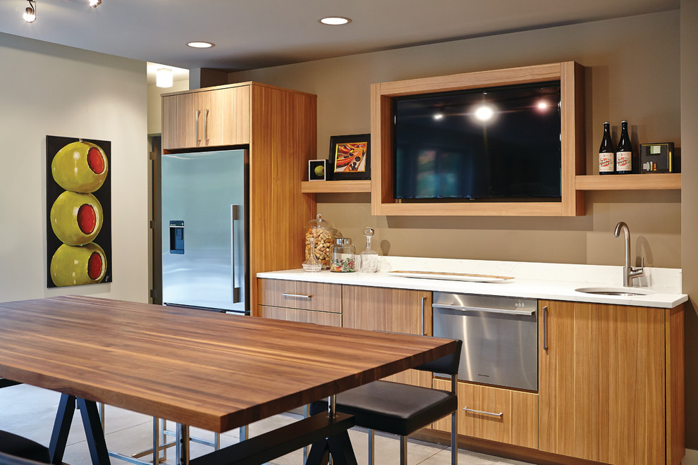 Picture of: Kitchen Basement Remodeling