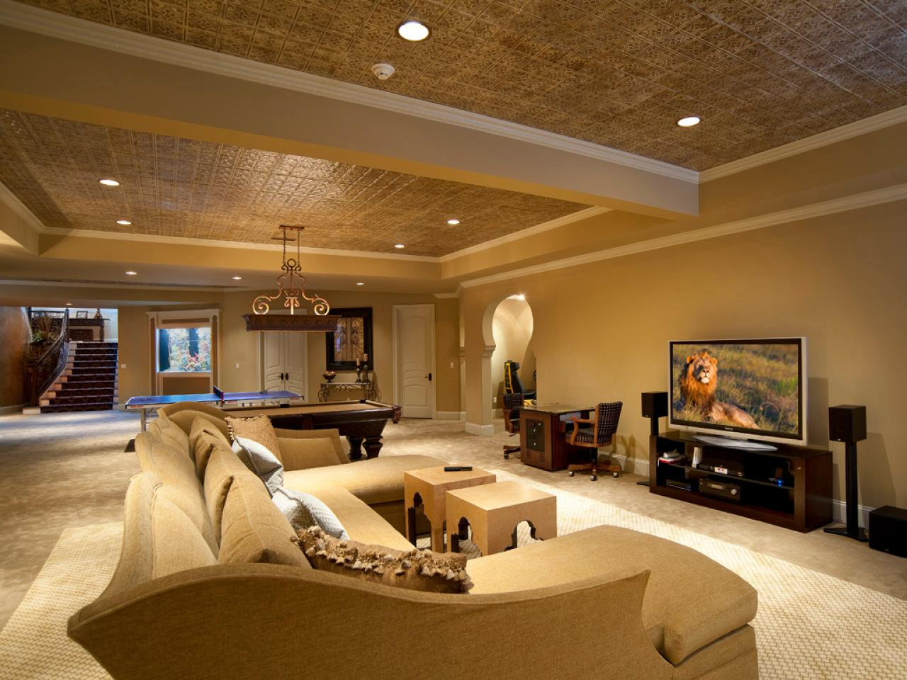 Picture of: Large Basement Remodeling