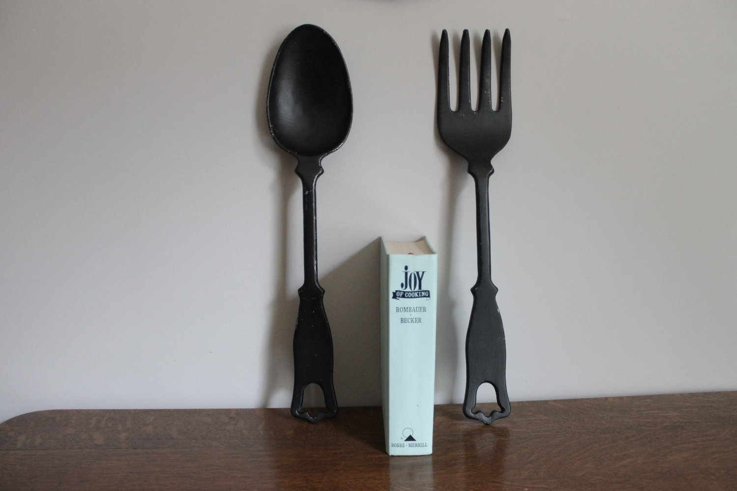 Image of: Large Fork and Spoon Wall Decor Gallery