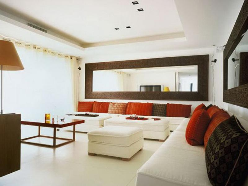 Image of: Large Living Room Wall Decor Design Ideas