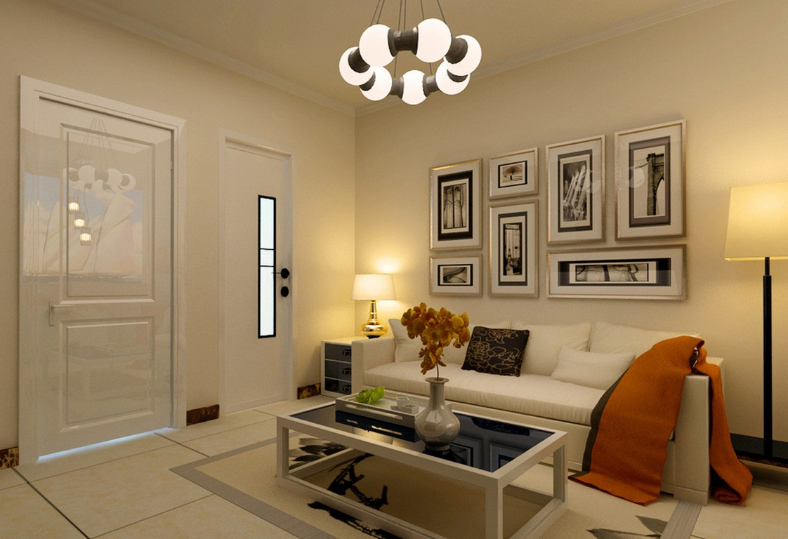 Image of: Large Living Room Wall Decor Design