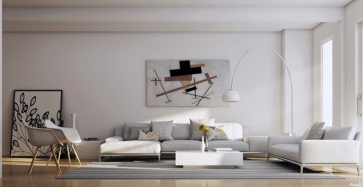 Large Modern Living Room Wall Decor Ideas