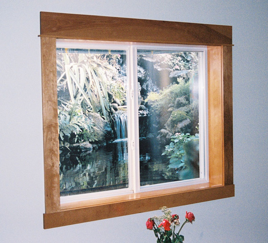 Large Sliding Basement Windows