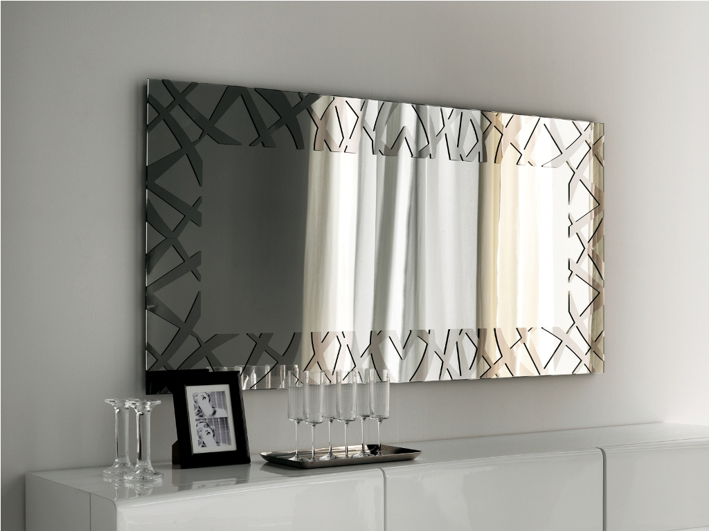 Long Decorative Wall Mirrors For Living Room