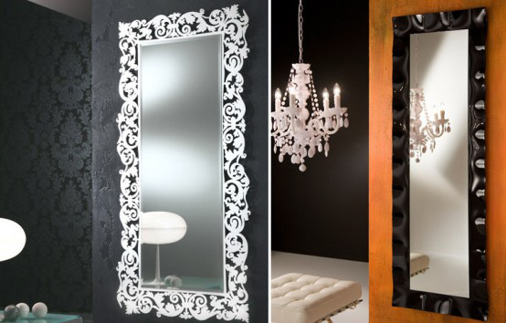 Long Small Decorative Wall Mirrors