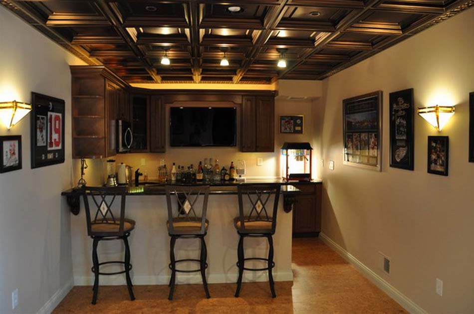 Image of: Low Basement Ceiling Ideas Style