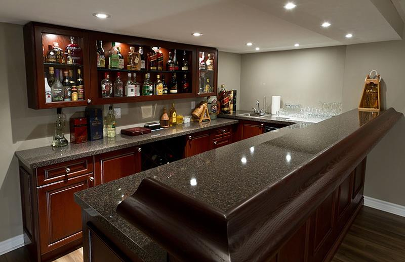 Modern Basement Bar Pictures