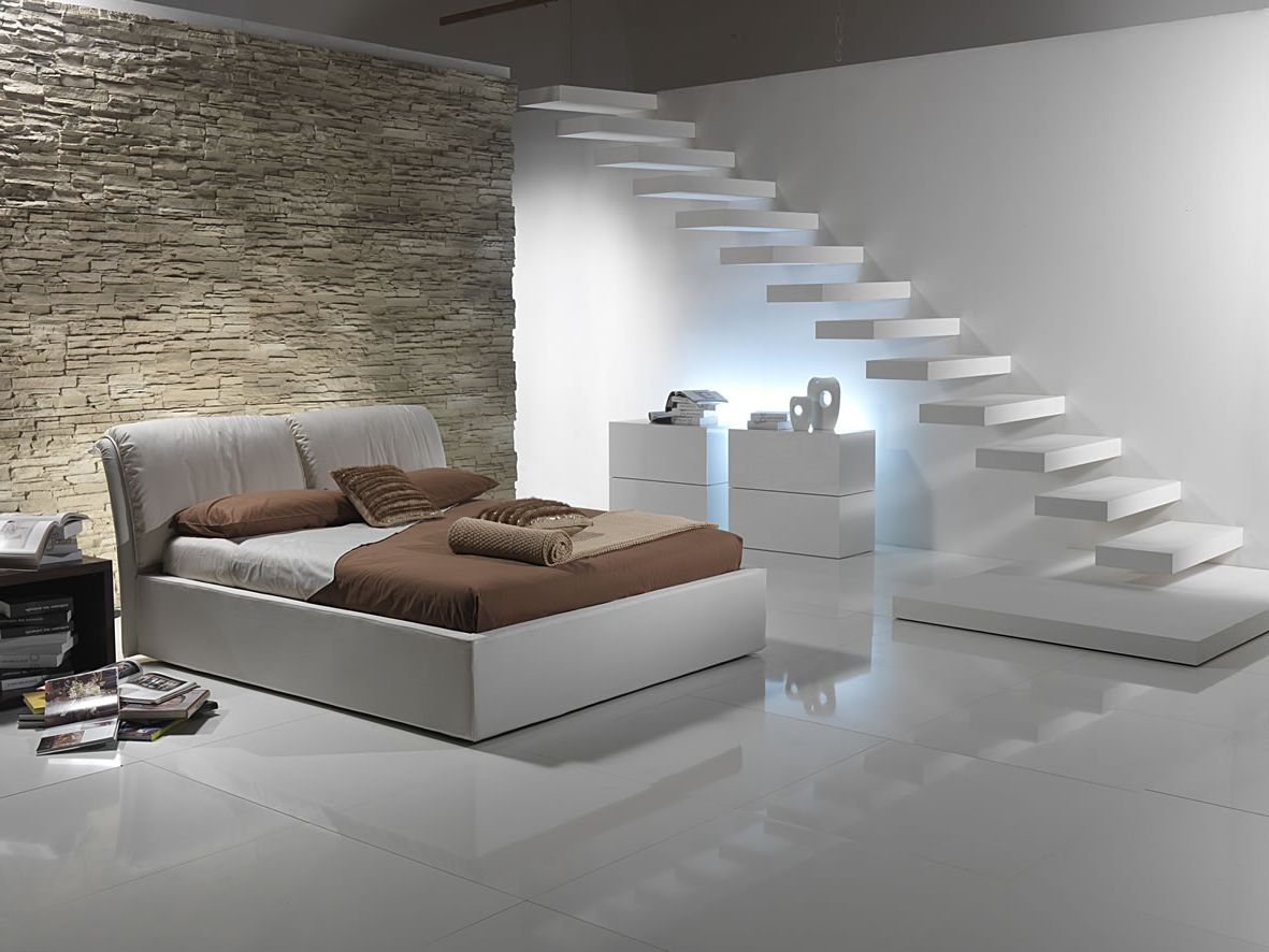 Picture of: Modern Basement Bedroom Ideas