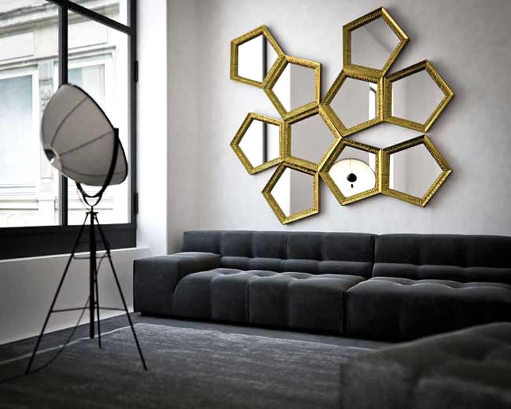 Image of: Modern Decorative Wall Mirrors