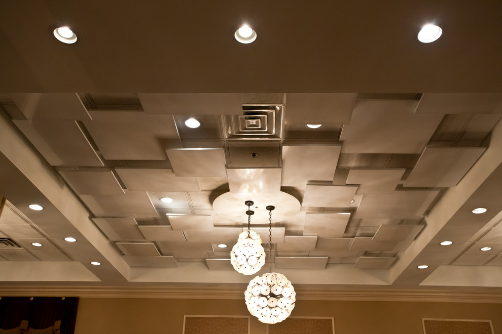 Modern Drop Ceiling Ideas Basement