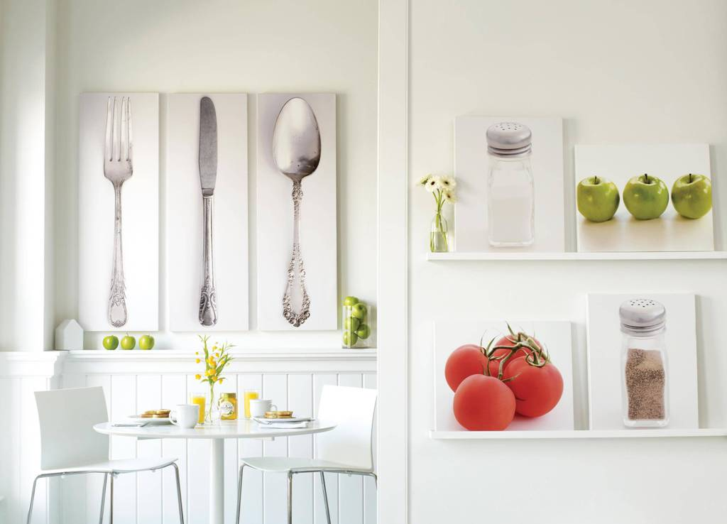 Image of: Modern Kitchen Wall Décor Furniture