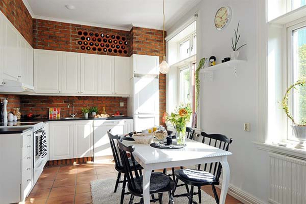 Picture of: Modern Kitchen Wall Décor Plan