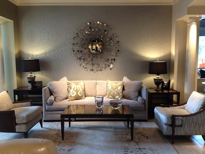Modern Living Room Wall Decor Ideas Round