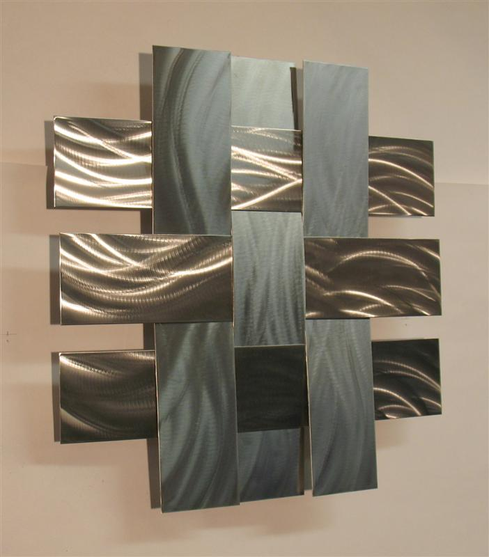 Image of: Modern Metal Wall Art Decor Amazing